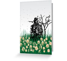 Big Boss MGS 3 Greeting Card