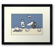 Cool Creatures Framed Print
