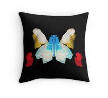 Butterfly Super Nova Throw Pillow