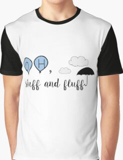 Oh, stuff and fluff- Winnie the Pooh Graphic T-Shirt