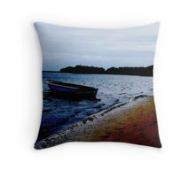 Robinson Crusoe Island Throw Pillow