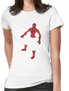 Spiderman! Womens Fitted T-Shirt
