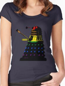 Dalek Pride Women's Fitted Scoop T-Shirt