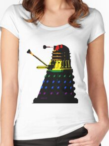 Dalek Pride Women's Fitted Scoop T-Shirt
