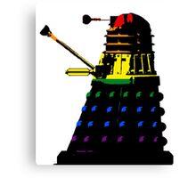 Dalek Pride Canvas Print