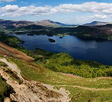 Cat Bells panorama by brianhardy247