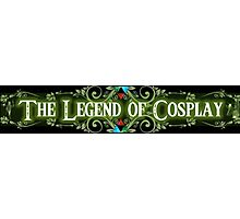 The Legend of Cosplay Photographic Print