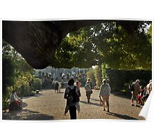 Isola Bella Gardens approach Poster