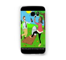Caillou Death Party Samsung Galaxy Case/Skin