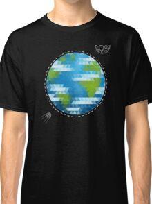 Earth Geometric Classic T-Shirt