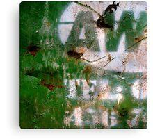 skip #001 - hebden bridge Canvas Print