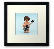 Naked Guitar  Framed Print