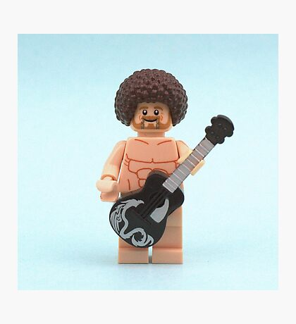 Naked Guitar  Photographic Print