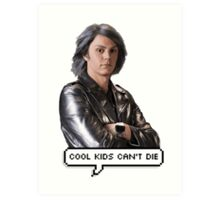 Quicksilver - Cool kids can't die Art Print
