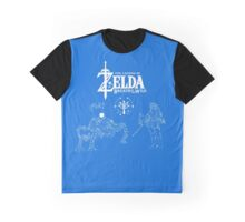 Constellation of Zelda Breath of the Wild Graphic T-Shirt