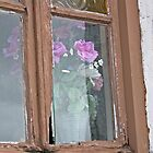 Flowers in the Window by Marylou Badeaux
