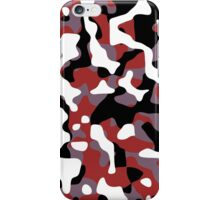 Red Camouflage iPhone Case/Skin