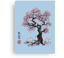 Forest Spirits Sumi-e Canvas Print