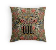 Pretty. Odd. flowers Panic! at the disco Throw Pillow