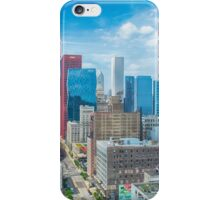 View from a Chicago Loop High Rise iPhone Case/Skin