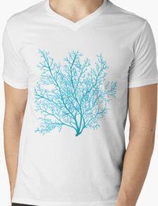 Sea Fan Mens V-Neck T-Shirt