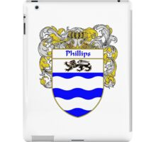 Phillips Coat of Arms / Phillips Family Crest iPad Case/Skin