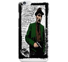 William.S.Burroughs-Dead On Arrival 2 iPhone Case/Skin