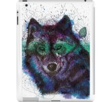 Scribble Ink Wolf iPad Case/Skin