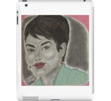 an American actress and film director iPad Case/Skin