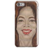 American media proprietor, talk show host, actress, producer, and philanthropist iPhone Case/Skin