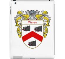 Pierce Coat of Arms / Pierce Family Crest iPad Case/Skin