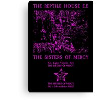 The Sisters Of Mercy - The Worlds End - The Reptile House EP Canvas Print