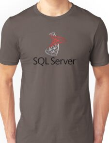sql server database programming language Unisex T-Shirt