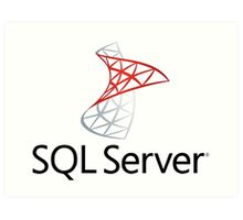 sql server database programming language Art Print
