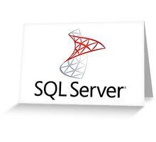sql server database programming language Greeting Card