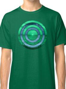 Peacock Sunset Classic T-Shirt