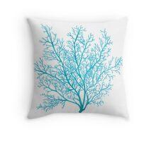 Sea Fan Throw Pillow