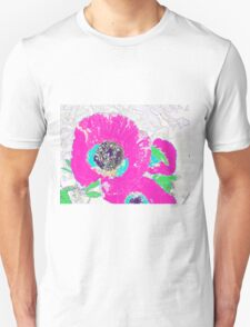 Punch of Pink Poppies I Unisex T-Shirt