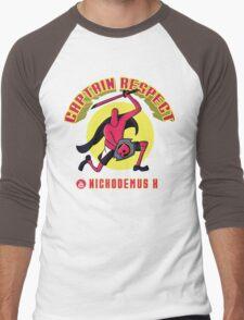 Captain Respect Men's Baseball ¾ T-Shirt
