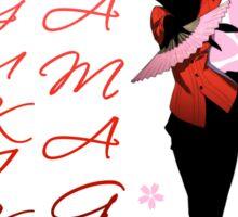 Yukiko Amagi Cherry Blossoms Sticker