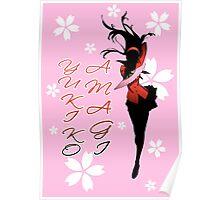 Yukiko Amagi Cherry Blossoms Poster