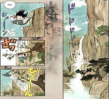 Dragon Ball Son Goku by Plateman