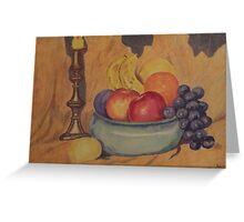 Fruit basket Greeting Card