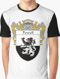 Powell Coat of Arms / Powell Family Crest Graphic T-Shirt