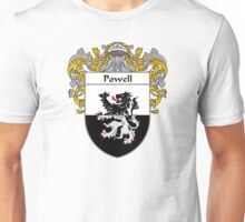 Powell Coat of Arms / Powell Family Crest Unisex T-Shirt