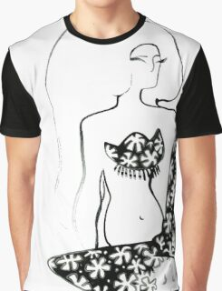 graphics girl Graphic T-Shirt