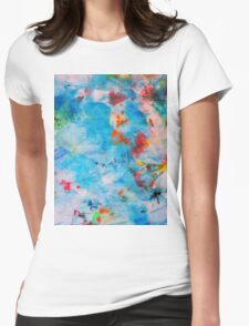 Sun Kissed Womens Fitted T-Shirt