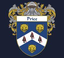 Price Irish Coat of Arms / Price Irish Family Crest Kids Tee