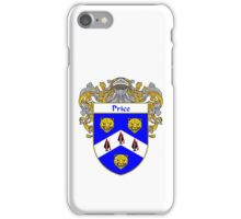 Price Irish Coat of Arms / Price Irish Family Crest iPhone Case/Skin
