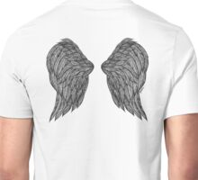 Wings Ink Drawing Unisex T-Shirt